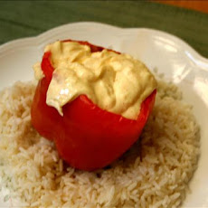 Hot Stuffed Bell Peppers