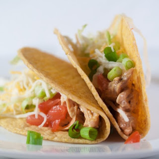 Speedy Chicken Tacos With Creamy Chipotle Sauce