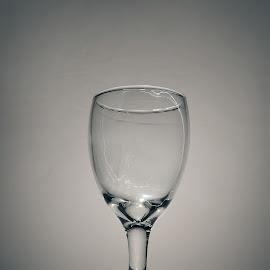 Gelas by Gigih Ardiantoro - Artistic Objects Glass ( lighting, black and white, still life, glass, gelas,  )