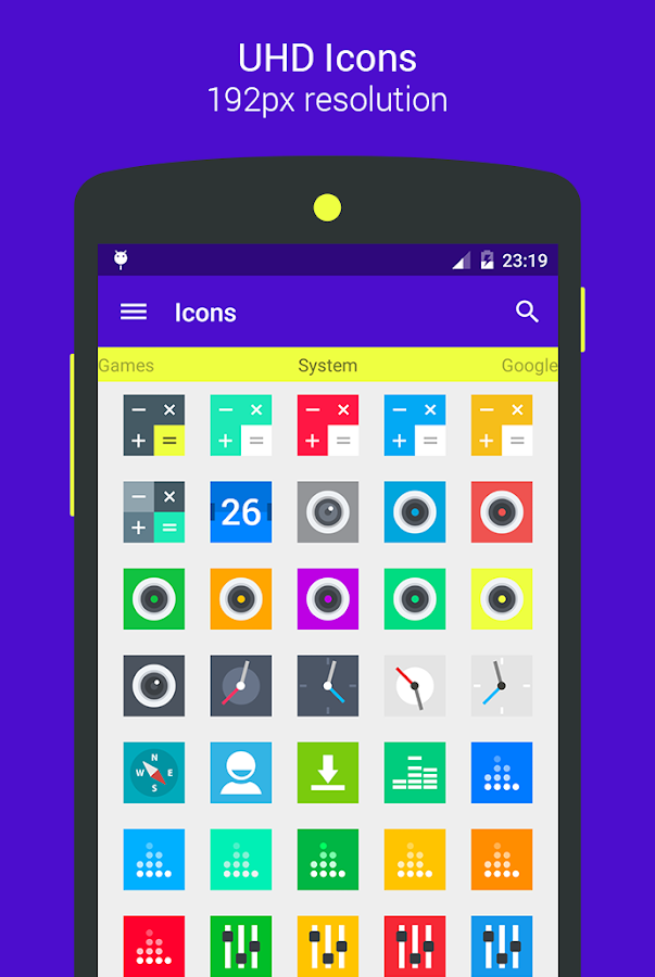 Goolors Square - icon pack Screenshot 18