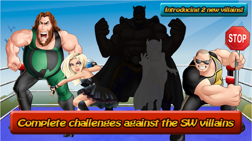 Super Wrestling Heroes - screenshot