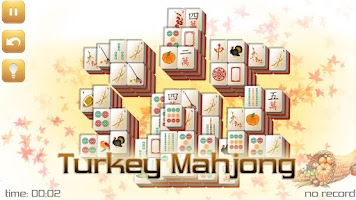 Screenshot of Thanksgiving Mahjong