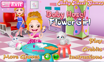 Screenshot of Baby Hazel Flower Girl