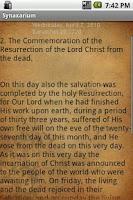 Screenshot of Coptic Synaxarium