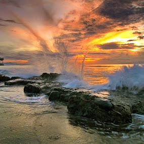 Jump Up by Agoes Antara - Landscapes Waterscapes