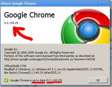 Google Chrome Beta 5