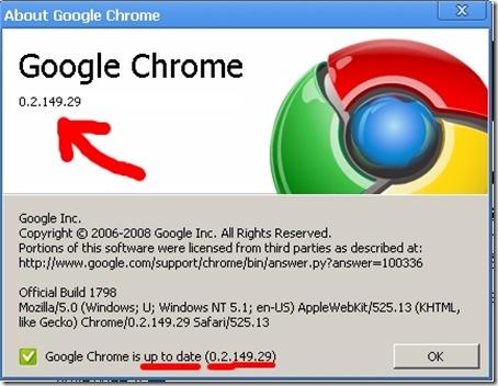 Google Chrome Beta 5