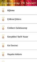 Screenshot of Galatasaray Zil Sesleri