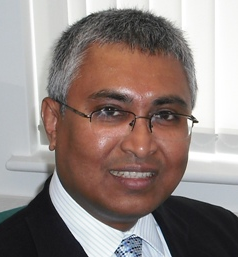 Mrinal Saharay, consultant surgeon, specialist in Endocrine & Colorectal Surgery.