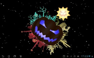 Screenshot of Halloween Live Wallpaper free