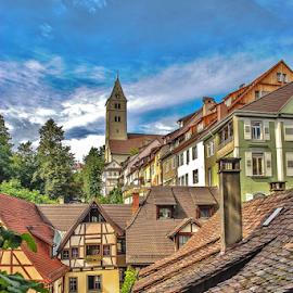 Meersburg. by Jesus Giraldo - Buildings & Architecture Homes ( urban, colors, buildings, meersburg, architecture, beauty, town )