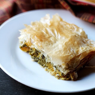 Butternut Squash and Spinach Pie
