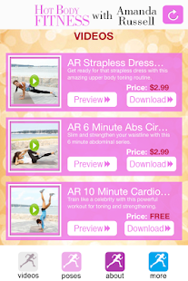 Hot Body Fitness with Amanda - screenshot