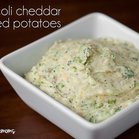 Broccoli Cheddar Mashed Potatoes