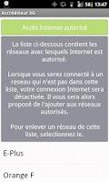 Screenshot of Accréditeur 3G (FreeMobile)