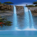 Big Waterfalls Live Wallpaper icon