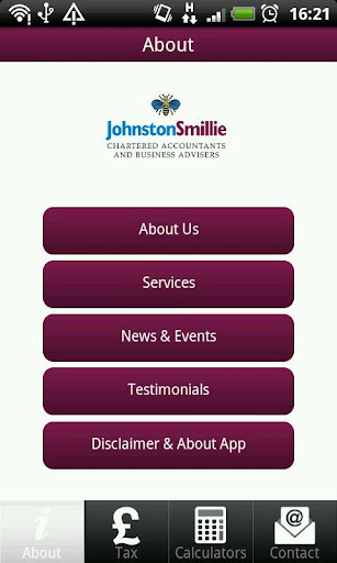 Johnston Smillie Tax App