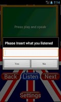Screenshot of English Listening