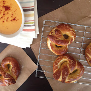 Homemade Pretzels & Beer Cheese Dip