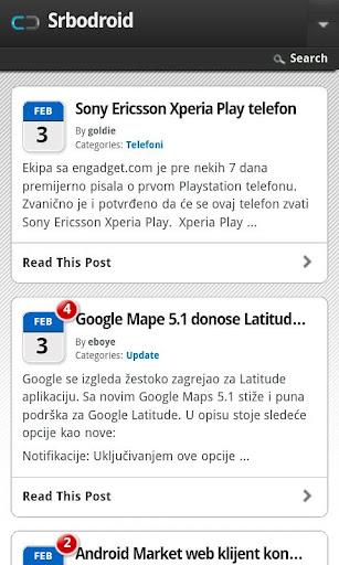 SrboDroid.Com Vesti