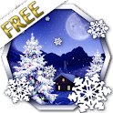 Winter Snow Xmas LWP Free icon