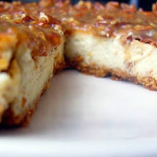 Sweet Potato and Caramel Cheesecake