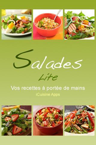 iCuisine Salades Lite