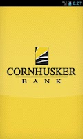 Screenshot of Cornhusker Bank Mobile Banking
