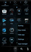 Screenshot of Newcentury GO LauncherEX Theme