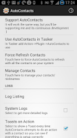 Screenshot of AutoContacts