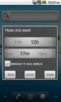 Screenshot of ThreeClickEvent
