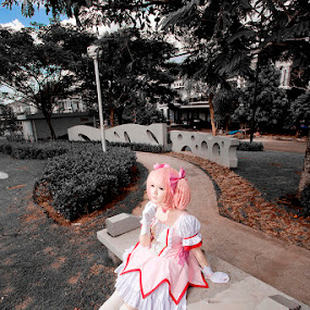 Puella Magi Cosplay - Punipun by Valdy Prawhesmara - People Fashion