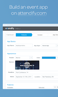 Screenshot of Attendify Studio