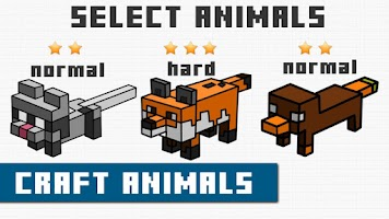 Screenshot of Draw Craft Animals