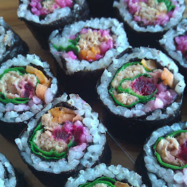 Summer Sushi by Ciara McKeever - Food & Drink Plated Food (  )