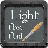 Light Fonts for Galaxy apk for sony