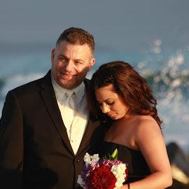 Groom and Daughter by Robin Thurner - Wedding Other ( san diego, wedding photography, wedding, beautiful, beach wedding )