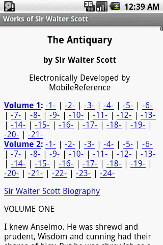 【免費書籍App】Works of Sir Walter Scott-APP點子