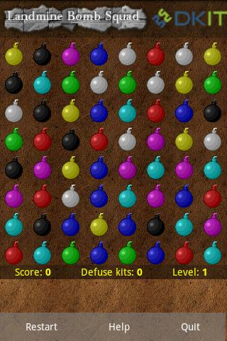 landmine-bomb-squad-free for android screenshot