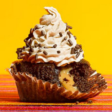 Mexican Chocolate Surprise Cupcakes