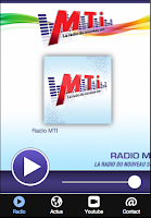 Screenshot of Radio MTI