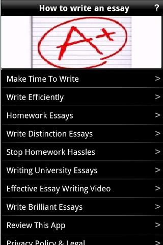 Can write my essay