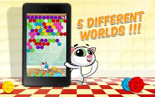 Screenshot of Bubble Shooter Cat