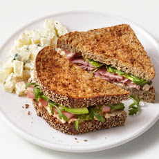 Ham and Goat Cheese Sandwiches
