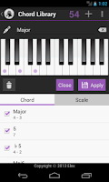 Screenshot of Chord/Scale Finder; Sherlock