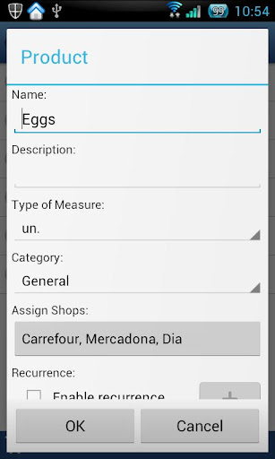 Pocket Shopping - screenshot