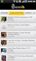 Screenshot of Sri News Old   Sinhala Gossip