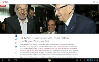 Screenshot of L'Obs ex-Le Nouvel Observateur