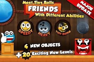 Screenshot of Tiny Ball Vs. Evil Devil