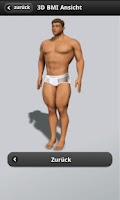 Screenshot of 3D BMI Calculator 2 Free